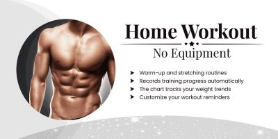 Home workout - Fitness - Android Mobile App