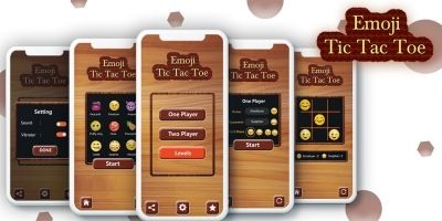 Tic Tac Toe For Emoji - Android Game Source Code