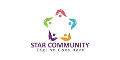 Star Community Logo Design