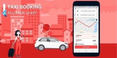 Taxi App - Flutter UI Kit