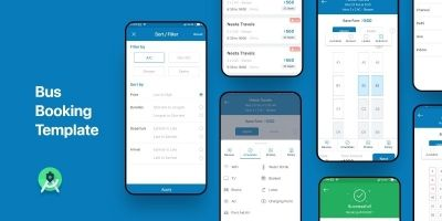 Bus Booking - Android Studio UI Template