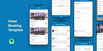 Hotel Booking - Android Studio UI Template