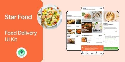 Food Delivery UI Kit Android Studio