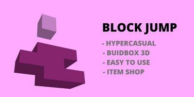 Block Jump - Buildbox template