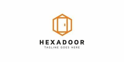 Hexagon Door Logo