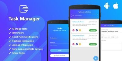 Task Manager - Full Flutter Application