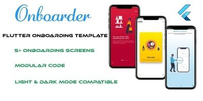 Onboarder - Flutter UI Template
