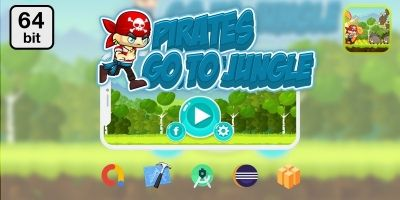 Pirates Go To Jungle Buildbox Template