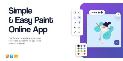 Simple And Easy Paint Online App