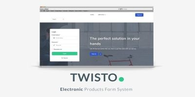 Twisto - Electronic Products Form