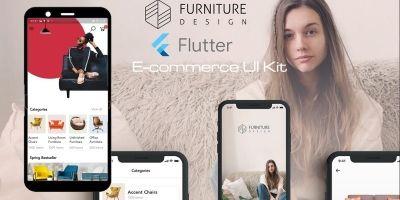 E-Commerce UI Kit Flutter