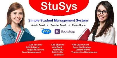 StuSys - Student Management System PHP Script