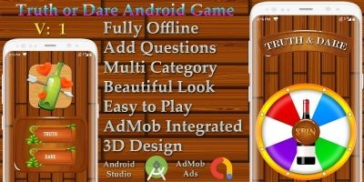 Truth Or Dare Android Game Source Code