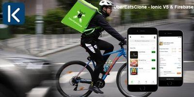 UberEatsClone - Ionic V5 And Firebase