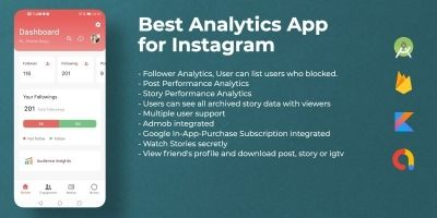 Insights for Instagram - Android Source Code