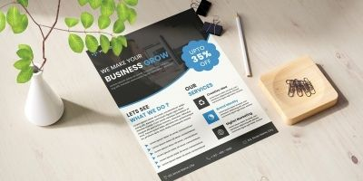 Simple and Creative Flyer Template