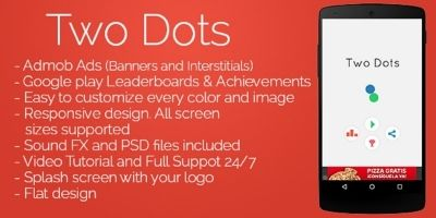 Two Dots - Android Game Source Code