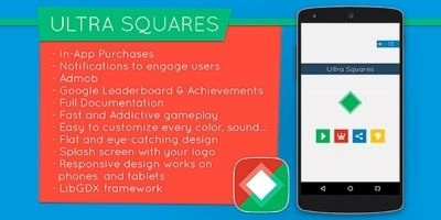 Ultra Squares - Android Game Template