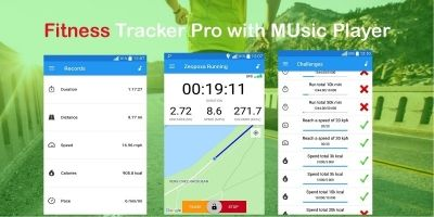 Running Tracker Pro - Android Source Code