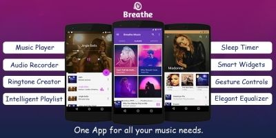 Breathe Music Player - Android Source Code
