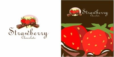 Strawberry Chocolate Logo