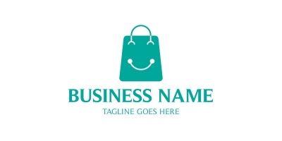 Happy Shop Bag Logo