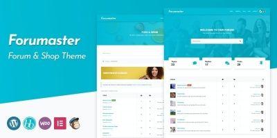 Forumaster - bbPress Forum Theme