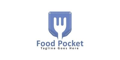 Pocket Food Logo Design