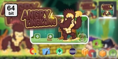 Angry Kinking 64 bit - Buildbox Template