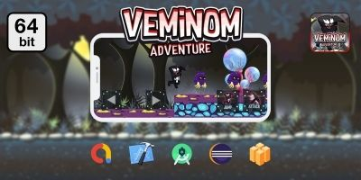 Veminom Adventure 64 bit - Buildbox Template