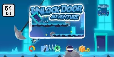 Unlock Doors 64 bit - Buildbox Template