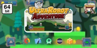 UltraRobot 64 bit - Buildbox Template