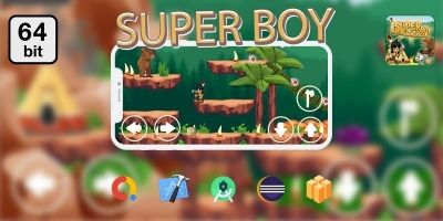 Super Boy 64 bit - Buildbox Template