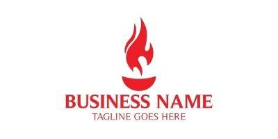 Fire Food Logo