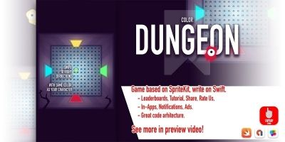Color Dungeon - iOS Source Code