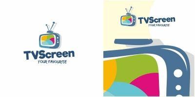TV Screen Logo