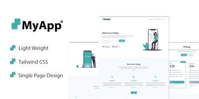 MyApp Landing Page