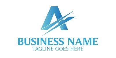 Advance  A Letter Logo