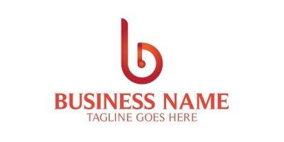 Bin Side B Letter Logo
