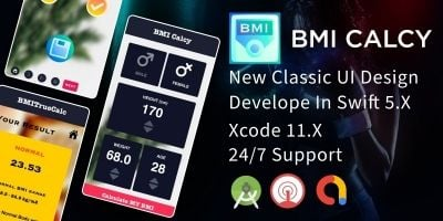 BMI Calculator - iOS Source Code