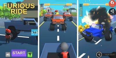 Furious Ride - Complete Unity Game