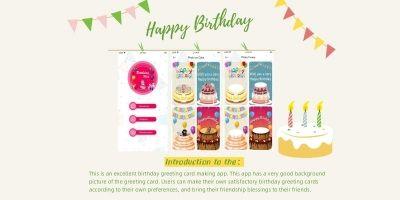 Birthday Wishes - iOS Source Code