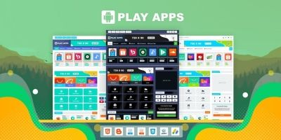 Playapps Template For Blogger