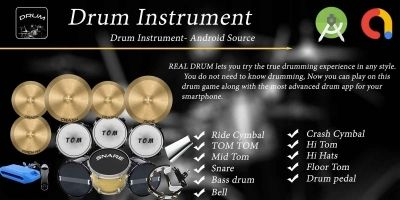 Real Drum Android App Source Code
