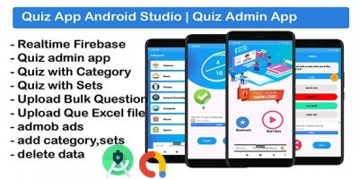 Quiz App With Earning System - Android Source Code