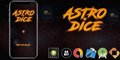 Astro Dice - Buildbox Template