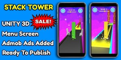 Stack Tower Unity Game Source Code