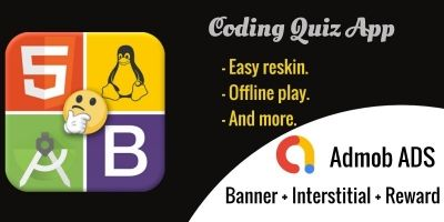 Coding Quiz  - Android App Source Code