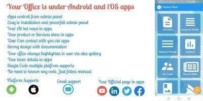 Official Apps - Flutter App Template