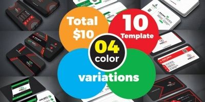 80 More Professional Business Card Design Bundle